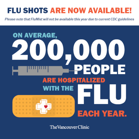 the vancouver clinic my chart: Flumist not available this season the vancouver clinic